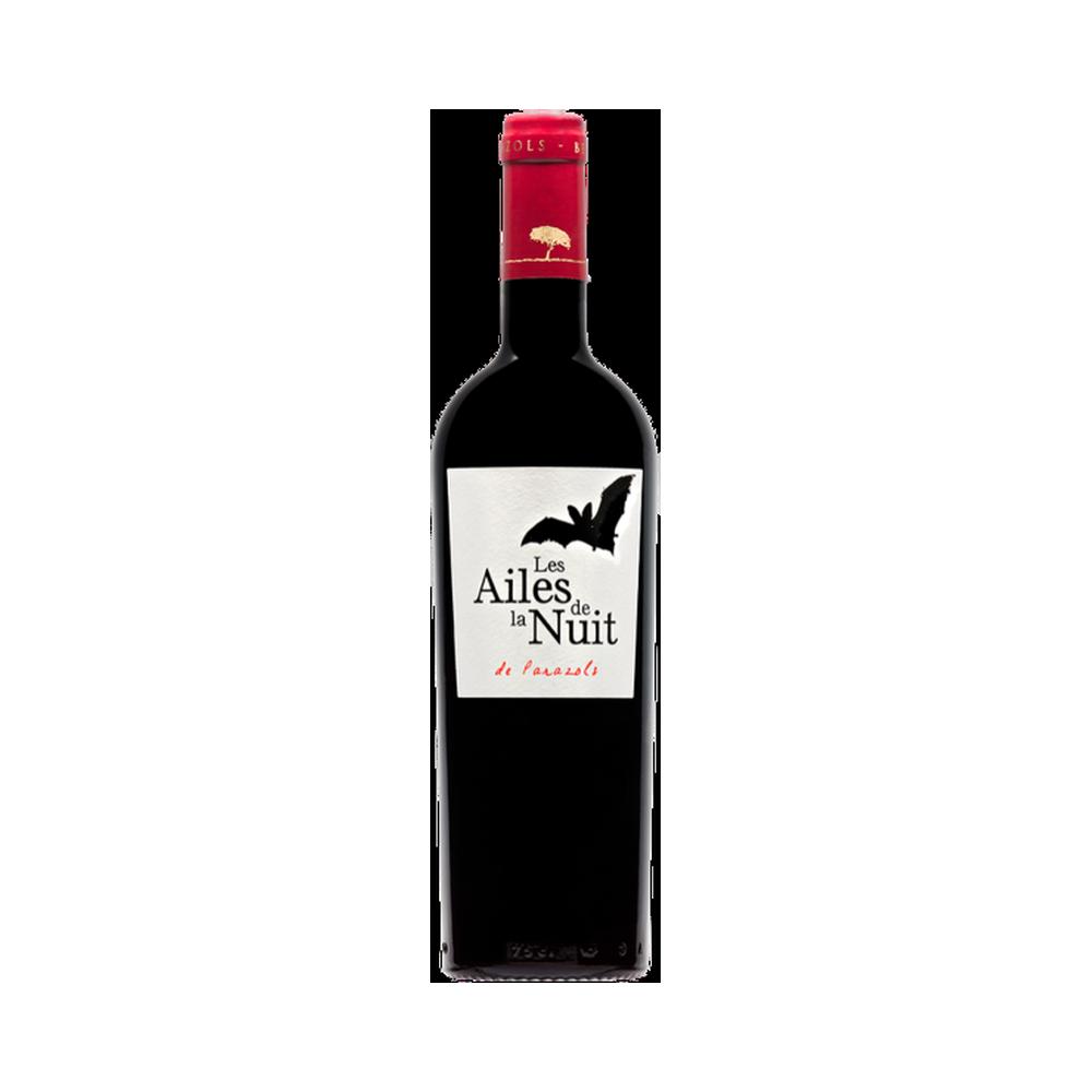 Les Ailes de la Nuit Rouge - 75cl Domaine Parazols - Bertrou, Languedoc-Roussillon, Vins Rouges