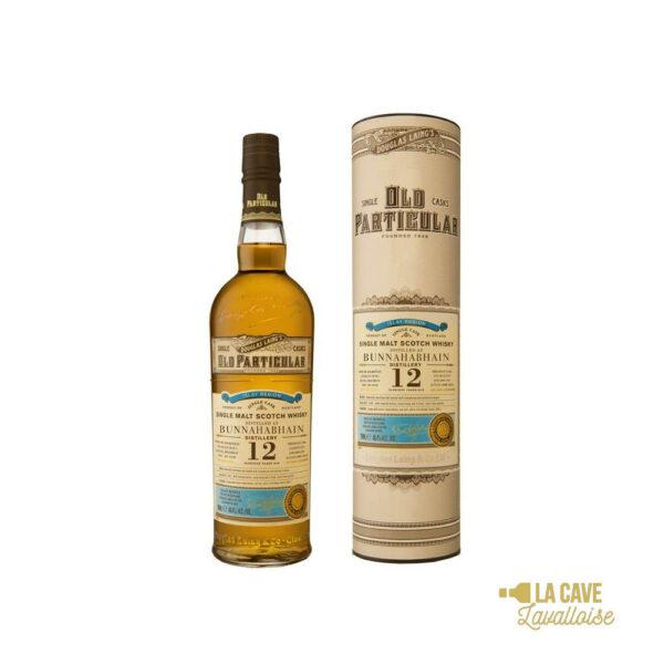 Bunnahabhain 12 Ans - 70cl Islay, bourbon, finition futs de sherry, whiskey, whiskies à laval, whisky, whisky à laval, whisky en mayenne, whiskys