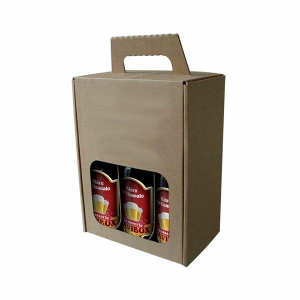 Coffret 6 Bières - Emballage Cadeau sans bouteilles Emballages Cadeaux, LIVRAISONS & EXPEDITIONS