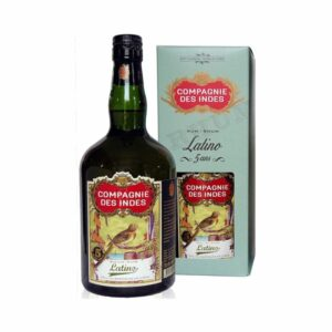 Latino 5 Ans Compagnie des Indes - 70cl Rhums Purs, Compagnie des Indes