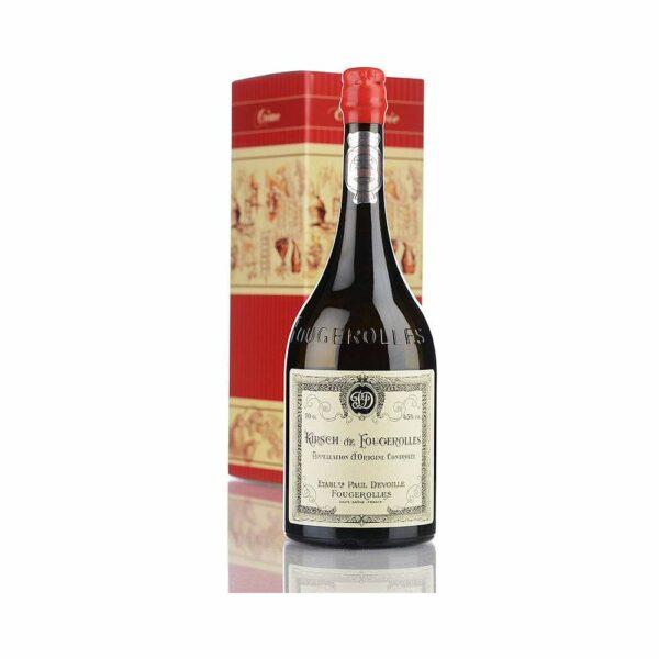 Kirsch de Fougerolles - 70cl Eaux de Vie, Distillerie Devoille, digestif, distillat, distillerie, eau de vie, idée cadeau, liqueur, liqueur de fruit, trou normand