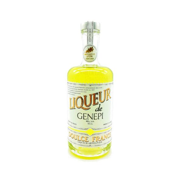 Liqueur de Genepi 40% - 70cl IDEES CADEAUX, Liqueurs, Distillerie Devoille, digestif, distillat, distillerie, eau de vie, idée cadeau, liqueur, liqueur de fruit, trou normand