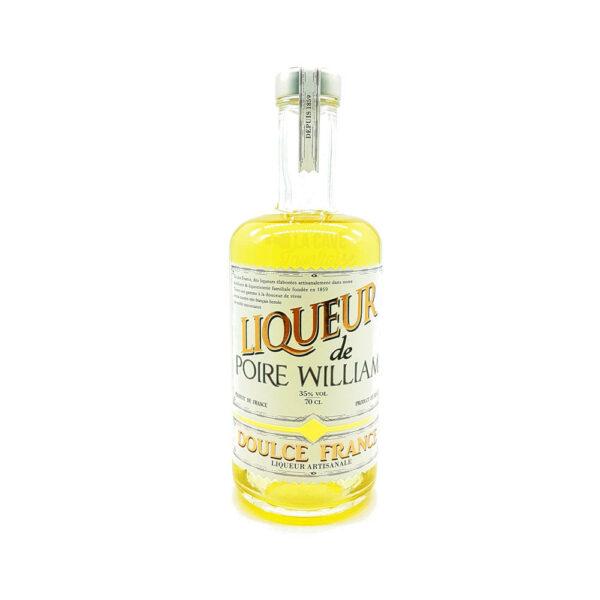 Liqueur de Poire William 35% - 70cl Idées Cadeaux Fête des Pères, Liqueurs, Distillerie Devoille, digestif, distillat, distillerie, eau de vie, idée cadeau, liqueur, liqueur de fruit, trou normand