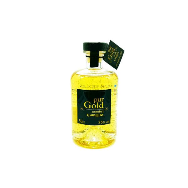 Liqueur Poire William 35% Paillettes d'Or - 50cl Liqueurs