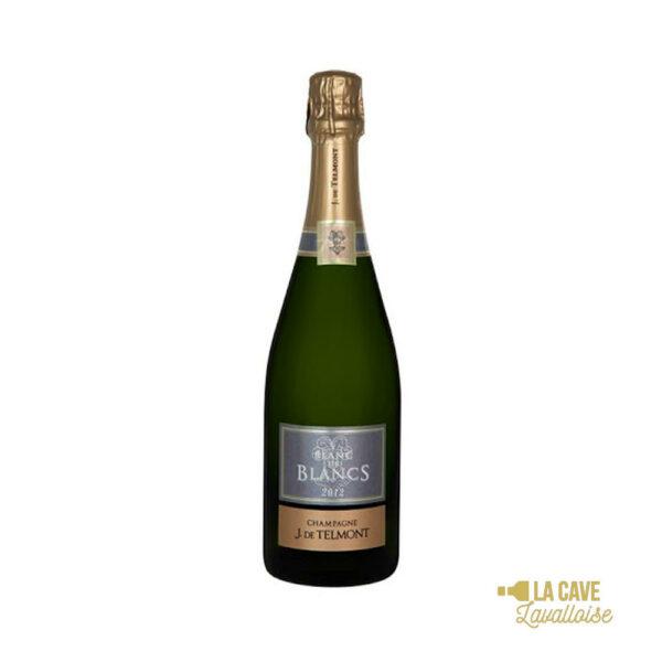 Champagne De Telmont Blanc de Blancs - 75cl Champagne, De Telmont, Vins Blancs, Vins Pétillants, Vins Biologiques & Naturels