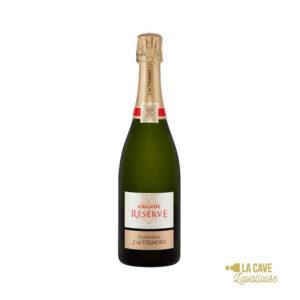 Champagne De Telmont Brut Réserve - 75cl Champagne, De Telmont, Vins Blancs, Vins Pétillants, Vins Biologiques & Naturels