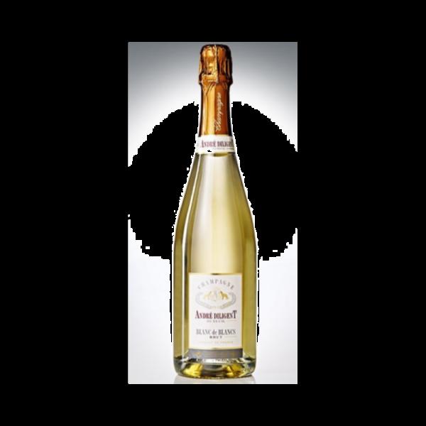 Champagne Blanc de Blancs - Diligent - 75cl Champagne, Vins Blancs, Vins Pétillants