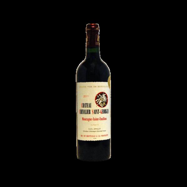 Montagne-Saint-Emilion - Château Chevalier Saint Georges - 75cl Bordeaux, Vins Rouges