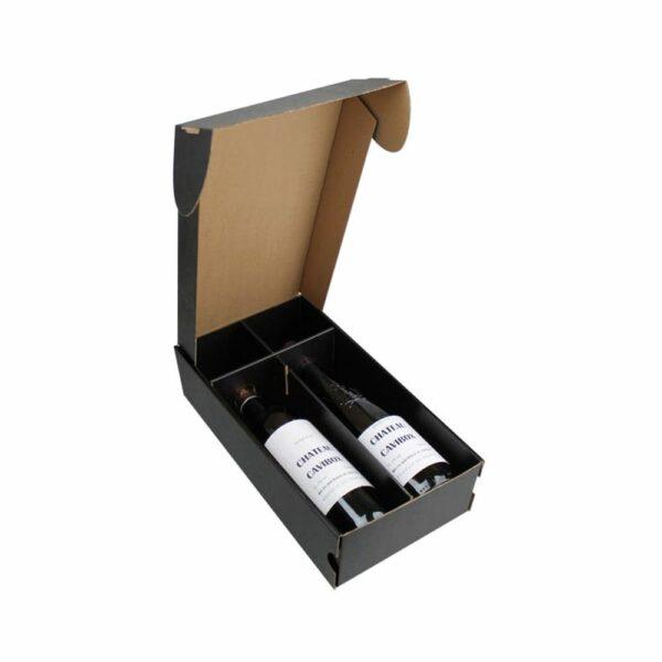 Coffret Vins Nu 2 Bouteilles - Emballage Cadeau sans bouteilles IDEES CADEAUX, Rhône, Coffrets Vins, Emballages Cadeaux, LIVRAISONS & EXPEDITIONS