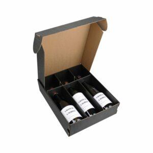 Coffret Vins Nu 3 Bouteilles - Emballage Cadeau sans bouteilles IDEES CADEAUX, Coffrets Vins, Emballages Cadeaux, LIVRAISONS & EXPEDITIONS