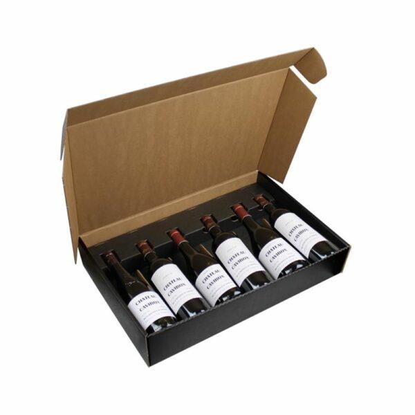 Coffret Vins Nu 6 Bouteilles - Emballage Cadeau sans bouteilles IDEES CADEAUX, Rhône, Coffrets Vins, Emballages Cadeaux, LIVRAISONS & EXPEDITIONS