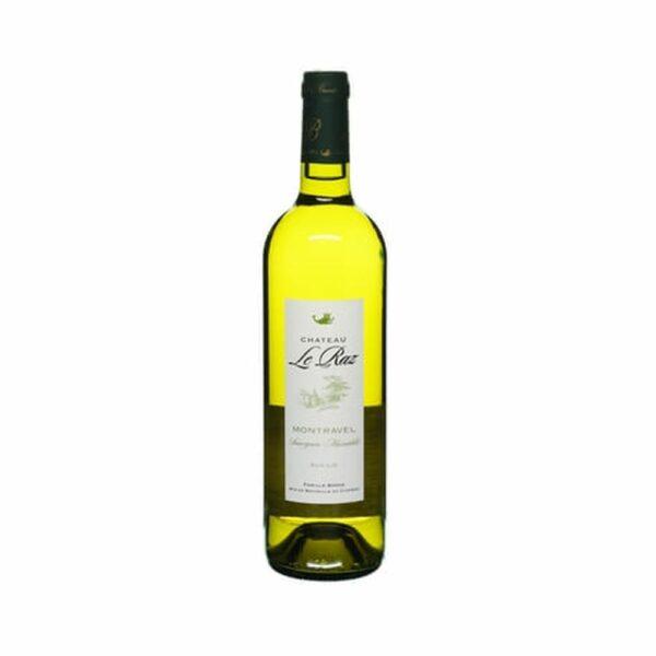 Côtes de Montravel Blanc sec sur Lie - 75cl Sud-Ouest, Vins Blancs, bergerac, château Le Raz, domaine Le Raz, domaine ter'raz, igp du périgord, ter'raz numéro 1, vin blanc ter'raz, vin du sud ouest, vin moelleux ter'raz, vin rosé ter'raz, vin rouge ter'raz, Vin ter'raz