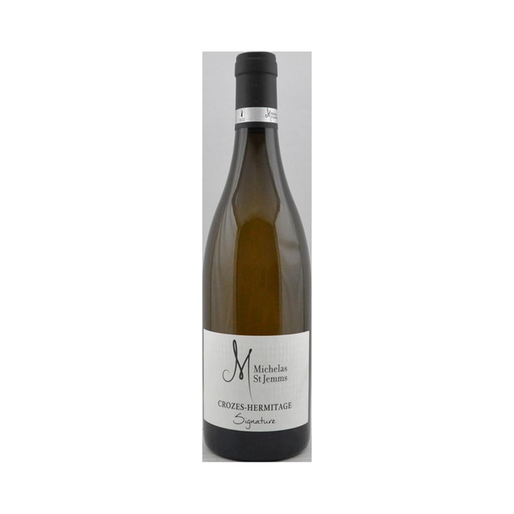 Crozes-Hermitage Blanc - Domaine Michelas St Jemms - 75cl Rhône, Vins Blancs, gigondas, grenache, syrah, vacqueyras, vallée du rhône, vin rouge
