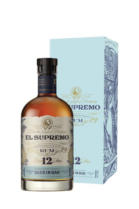 El Supremo 12 Ans - Paraguay -70cl Rhums Purs