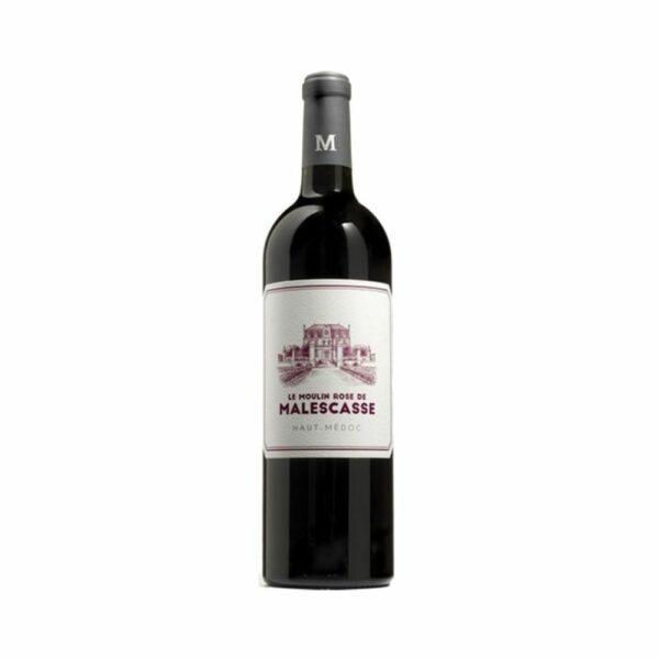 Haut-Médoc - Moulin Rose de Malescasse - 75cl Bordeaux, Vins Rouges