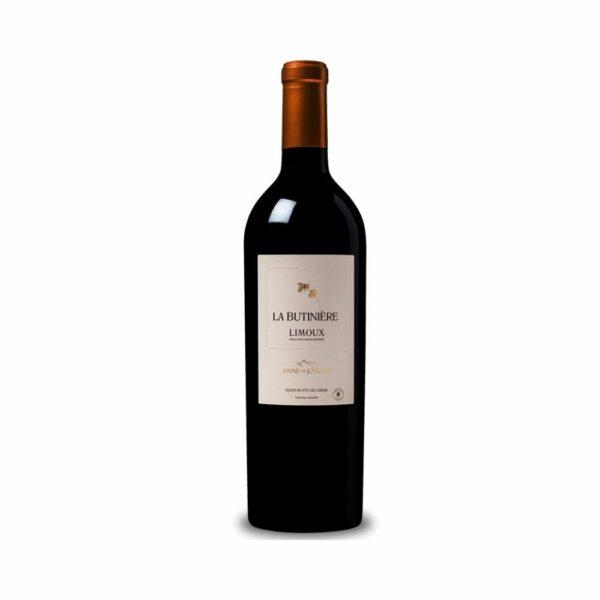 La Butinière Rouge - 75cl Languedoc-Roussillon, Vins Rouges, agriculture raisonnée, anne de joyeuse, bouteille vin découverte, carcassonne, chardonnay, languedoc, malbec, montpellier, pinot noir, protect planet, syrah, vin atypique, vin de cépage, vin de pays, vin de pays d'oc
