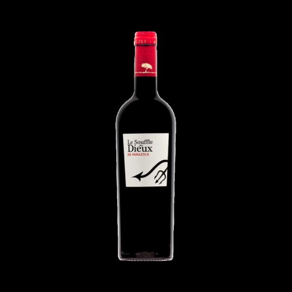 Le Souffle des Dieux - Cabardès 12 Mois Barriques - 75cl Domaine Parazols - Bertrou, Languedoc-Roussillon, Vins Rouges