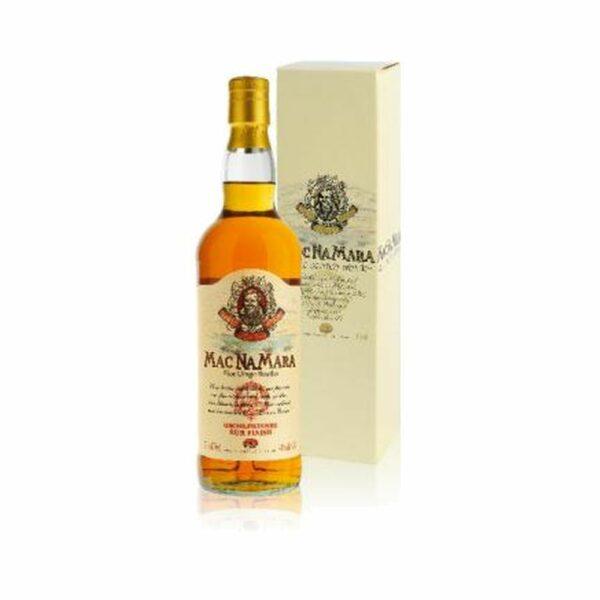 Mac Na Mara Rum Finish - 70cl Idées Cadeaux Fête des Pères, Ecosse, bourbon, finition futs de sherry, mac namara, macnamara, whiskey, whiskies à laval, whisky, whisky à laval, whisky en mayenne, whiskys