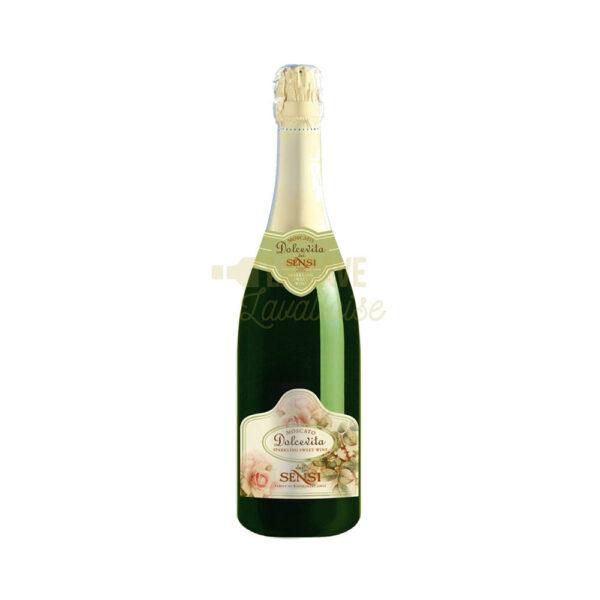Moscato - Pétillant Demi-Sec - 100% Muscat Italien - 75cl VINS, Vins Blancs, Vins Pétillants, clairette de die, moscato d'asti, moscato spumante, mousseux demi-sec, mousseux doux, mousseux muscat, muscat italien, muscat pétillant, petillant demi-sec, petillant doux