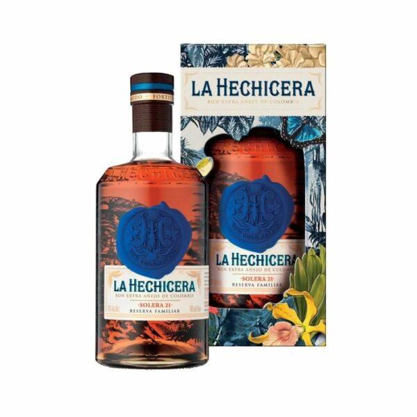 La Hechicera - Solera 21 - Colombie - 70cl Rhums Purs