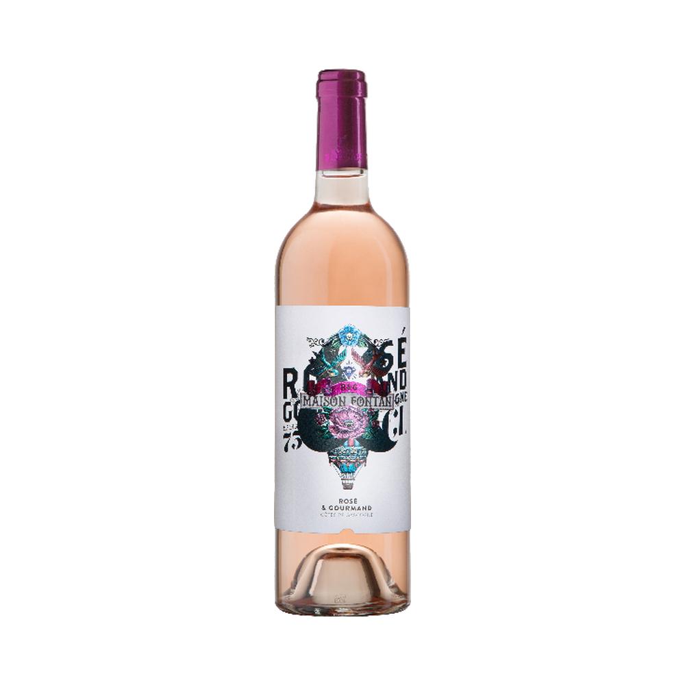 Tatoo Rosé - Vignobles Fontan - 75cl Sud-Ouest, Vins Rosés, chardonnay, cote de gascogne blanc sec, cote de gascogne moelleux, cote de gascogne moelleux prix, cote de gascogne sucre, cotes de gascogne, gros manseng, merlot, petit manseng, sauvignon, sud ouest, tannat, vin gascogne rose