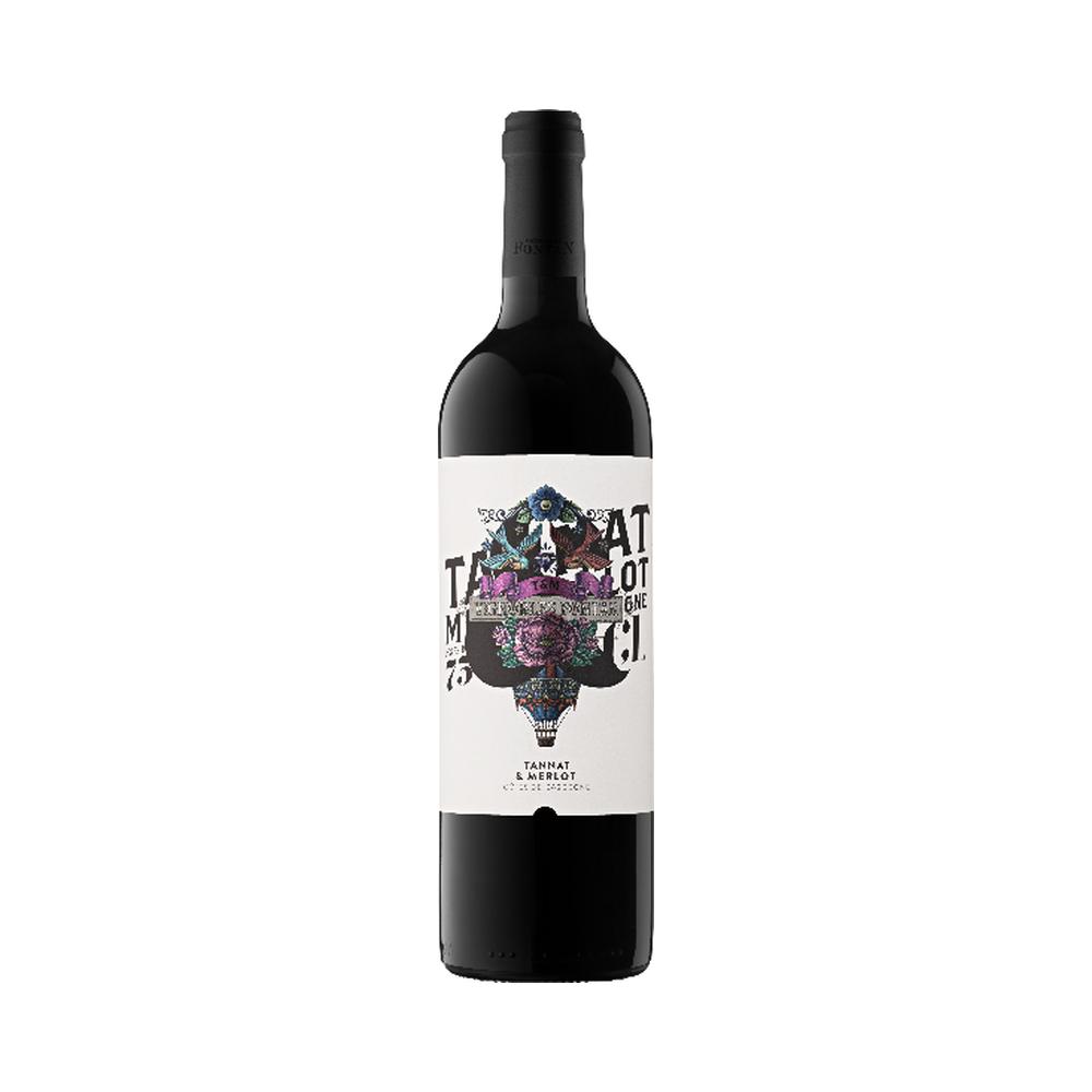 Tatoo Rouge - Vignobles Fontan - 75cl Sud-Ouest, Vins Rouges