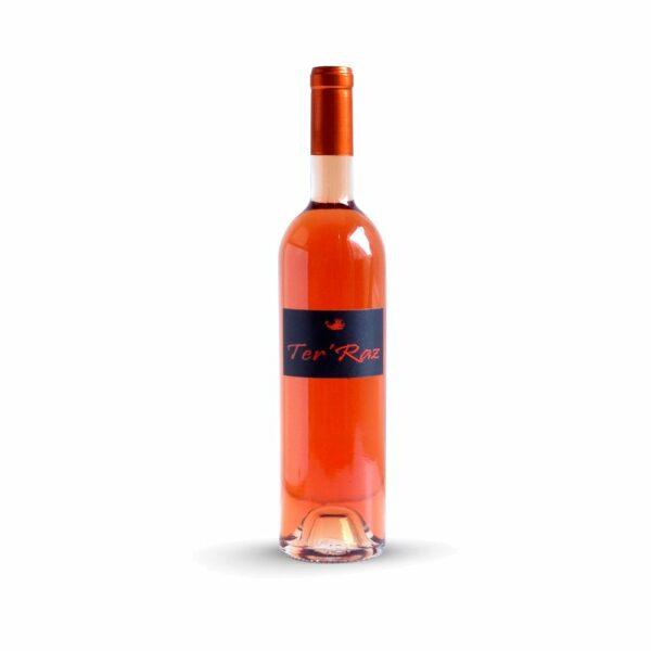 Ter'Raz Rosé - 75cl Sud-Ouest, Vins Rosés, bergerac, château Le Raz, domaine Le Raz, domaine ter'raz, igp du périgord, ter'raz numéro 1, vin blanc ter'raz, vin du sud ouest, vin moelleux ter'raz, vin rosé ter'raz, vin rouge ter'raz, Vin ter'raz