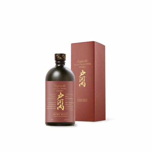 Togouchi Pure Malt - 70cl Idées Cadeaux Noël 2021, Asie, bourbon, finition futs de sherry, whiskey, whiskies à laval, whisky, whisky à laval, whisky en mayenne, whiskys
