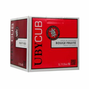BIB UBY Rouge 5L Sud-Ouest, Vins Rouges, Bag-in-Box, bag, bag in box, bib, box, cubi