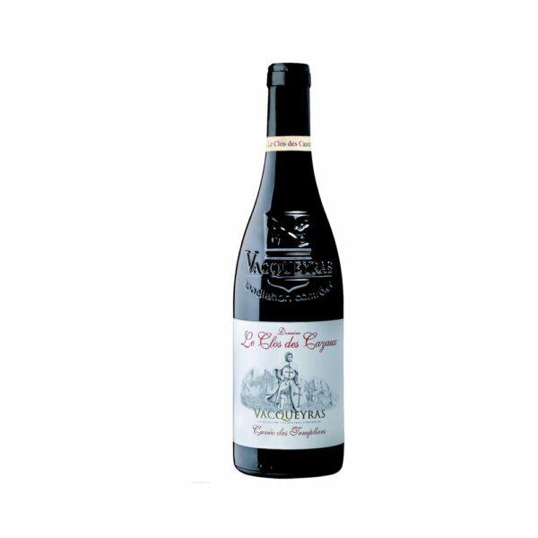 Vacqueyras - Templiers - Clos des Cazaux - 75cl Rhône, Vins Rouges