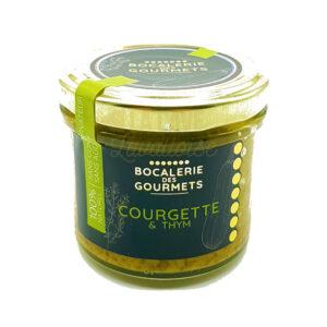 Courgette & Thym - La Bocalerie des Gourmets - 110gr Produits de la Mayenne, Produits Salés, Bocalerie des Gourmets