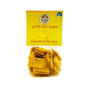 Biscuits Salés - Emmental de Charchigné - 100gr Produits de la Mayenne, Produits Salés, Biscuitier du Maine