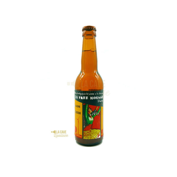 La Free Mousse Dorée 33cl & 75cl - 5,6% Idées Cadeaux Fête des Pères, Produits de la Mayenne, Bières & Cidres de la Mayenne, Brasserie de L'Oudon, biere artisanale de la mayenne, brasserie artisanale de la mayenne, colis gourmand, epicerie fine, panier gourmand, panier mayennais, producteur local en mayenne, producteurs locaux en mayenne, produit de la mayenne, produit mayennais, produits du terroir en mayenne