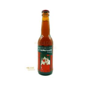 L'Ambrassée 33cl & 75cl - Bière Ambrée 5,8% Produits de la Mayenne, Bières & Cidres de la Mayenne, Brasserie de L'Oudon