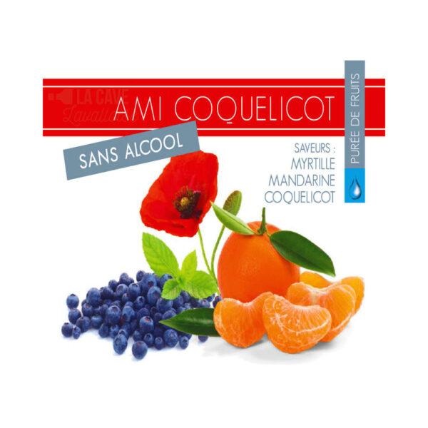 Coquelicot - Sans Alcool Cocktails Apéritifs en BIB, Apéritifs, bag, bag in box, bib, box, cubi