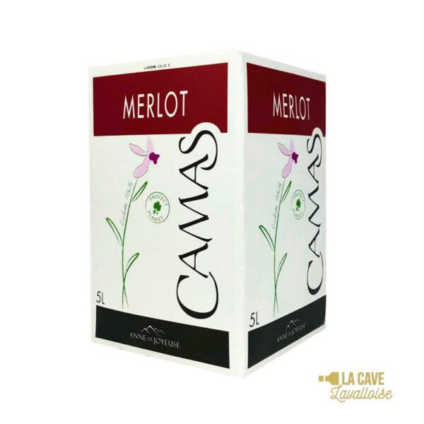 BIB Merlot Camas 5L & 10L Languedoc-Roussillon, Vins Rouges, Bag-in-Box, bag, bag in box, bib, box, cubi