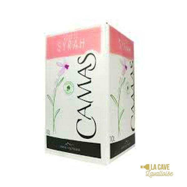 BIB Syrah Camas Rosé 5L & 10L Languedoc-Roussillon, Vins Rosés, Bag-in-Box, bag, bag in box, bib, box, cubi