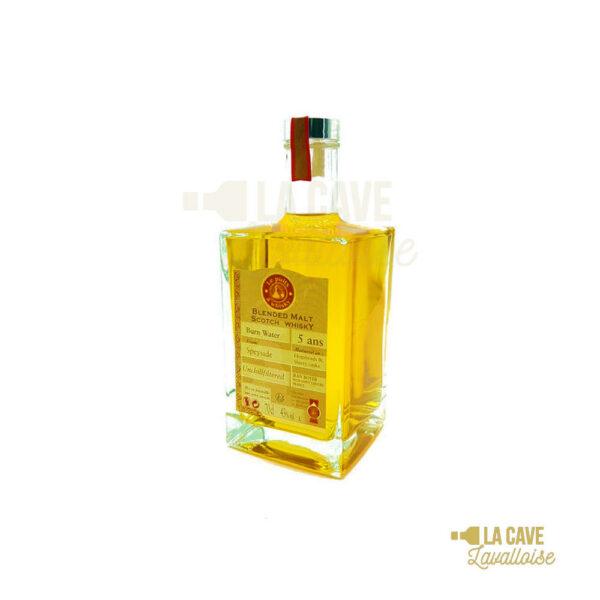 Burn Water 43° - Finition Fûts de Sherry & Hogshead - 70cl Ecosse, L'Orgue à Whiskies, Jean Boyer
