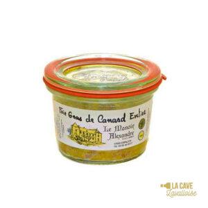 Foie Gras de Canard Entier - 50gr Manoir Alexandre, Produits Sucrés, aperitif, canard, colis gourmand, foie gras, gibier, gourmet, manoir alexandre, pâté, porc, producteur, produit de qualité, rillettes, tartinable, terrine, verrines