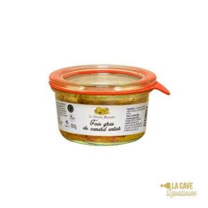 Foie Gras de Canard Entier - 90gr Manoir Alexandre, Produits Salés, aperitif, canard, colis gourmand, foie gras, gibier, gourmet, manoir alexandre, pâté, porc, producteur, produit de qualité, rillettes, tartinable, terrine, verrines