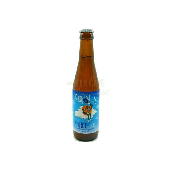Gégé 33cl - Bière Blanche 6.3% Produits de la Mayenne, Bières & Cidres de la Mayenne, Brasserie Geslin, aperitif, apéritif à emporter, apéro à Laval, biere artisanale de la mayenne, brasserie artisanale de la mayenne, cocktail, coffret mayennais, colis gourmand, epicerie fine, panier gourmand, panier mayennais, producteur local en mayenne, producteurs locaux en mayenne, produit de la mayenne, produit du terroir laval, produit mayennais, produits du terroir en mayenne, spécialités mayenne, tapas à Laval, tapas en Mayenne, tartinables