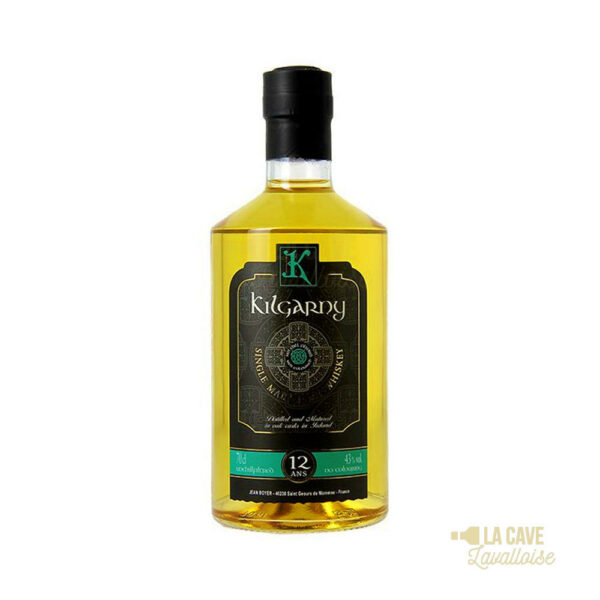 Kilgarny 12 Ans - Irish Single Malt Whiskey 43° - 70cl Irlande