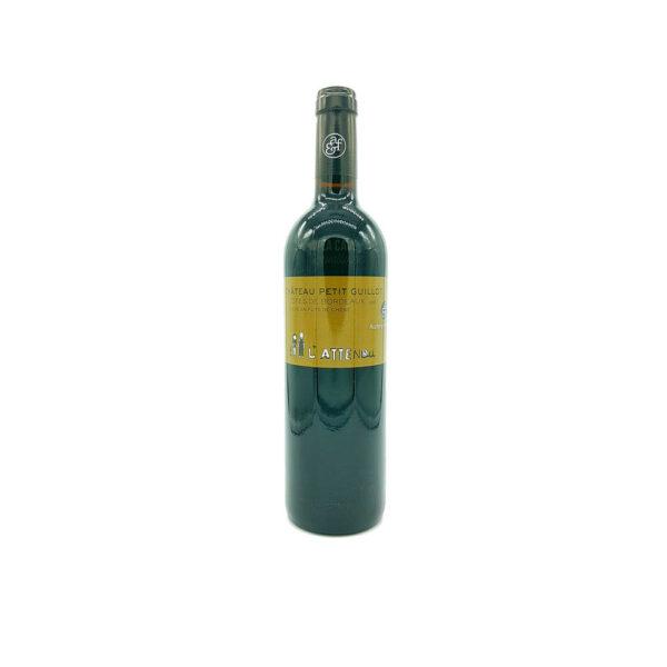 Côtes de Bordeaux L'Attendu - 10 Mois Barriques - Château Petit Guillot Vins Rouges, Vins Biologiques & Naturels, Château Petit Guillot