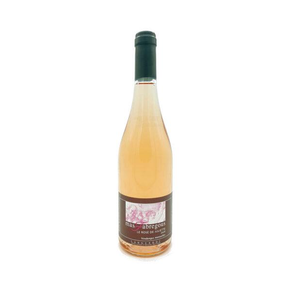Le Rosé de Juliette - Languedoc Languedoc-Roussillon, Vins Rosés, Vins Biologiques & Naturels, Mas Fabregous