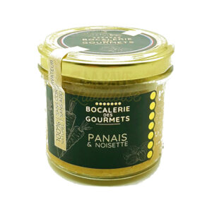 Panais & Noisettes - La Bocalerie des Gourmets - 110gr Produits de la Mayenne, Produits Salés, Bocalerie des Gourmets, colis gourmand, epicerie fine, panier gourmand, panier mayennais, producteur local en mayenne, producteurs locaux en mayenne, produit de la mayenne, produit mayennais, produits du terroir en mayenne