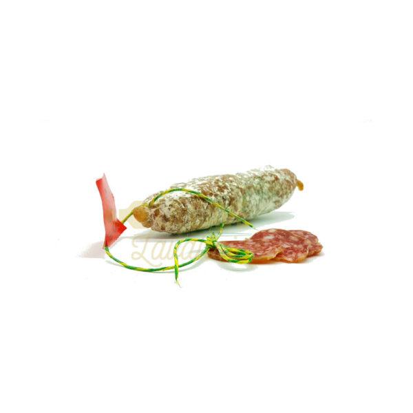 Saucisson aux Olives - 150gr Produits Salés, Saucissons Secs, bons saucissons, fabrication artisanale, saucisses sèches, saucissons, saucissons au fromage, saucissons aux herbes, saucissons moelleux, saucissons secs