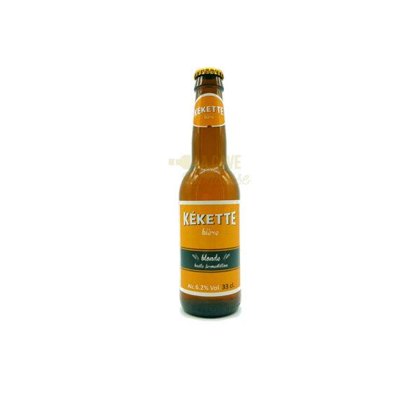 Bière Kékette Blonde 6.2°- 33cl Kékette, Nouveautés