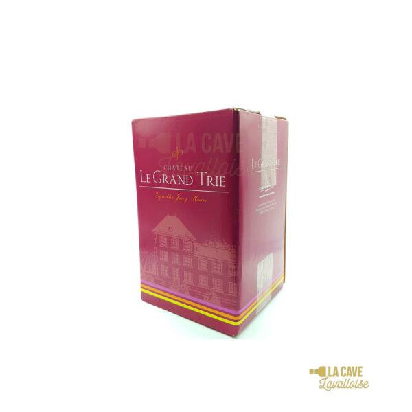 Blaye Tradition - Château Le Grand Trié 5L & 10L Bordeaux, Vins Rouges, Bag-in-Box, Château Le Grand Trié, bag, bag in box, bag-in-box vin conservation, bib, bib bordeaux, bib vin bio, bib vin blanc, bib vin naturel, catalogue bib vin, cubi, cubi bordeaux, cubi cotes du rhone, cubi de vin 10 litres, cubi de vin 3 litres, cubi de vin 5 litres, cubi languedoc, cubi vin bio, cubi vin chardonnay, cubi vin rosé, cubi vin rouge, cubi vin rouge merlot, meilleur vin rouge en bag in box, vin en bib