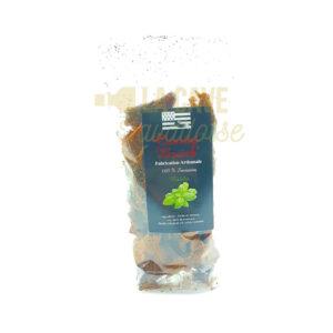 Chips de Galette au Basilic - Crousty'Breizh - 100gr Produits Salés, aperitif, apéritif à emporter, apéro à Laval, chips, cocktail, galette, saucissons, tapas, tapas à Laval, tapas en Mayenne, tartinables