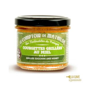 Courgettes grillées au Miel - Tartinable 90gr Produits Salés, Comptoir de Mathilde